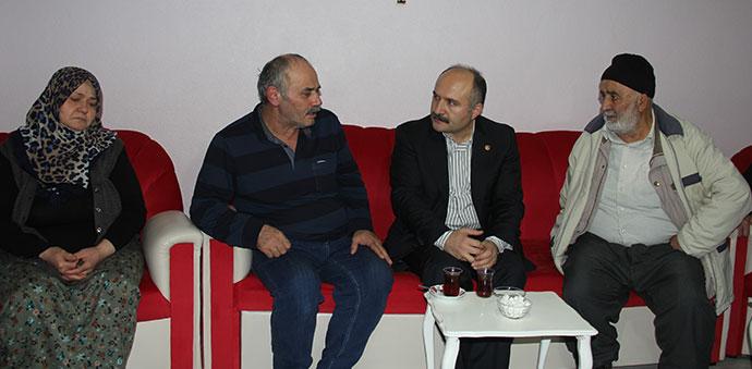Erhan Usta, Taziye Ziyaretlerinde Bulundu