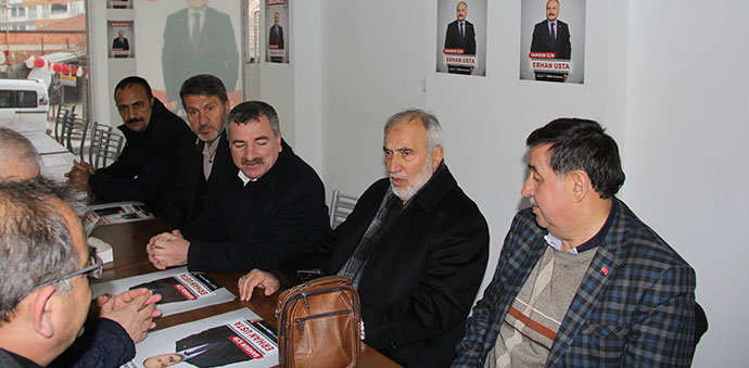 Erhan Usta'nın Seçim Bürosuna Ziyaret