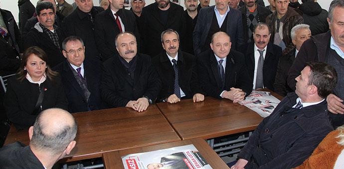 Erhan Usta'nın SKM Açılışına Tüm Partilerden Katılım