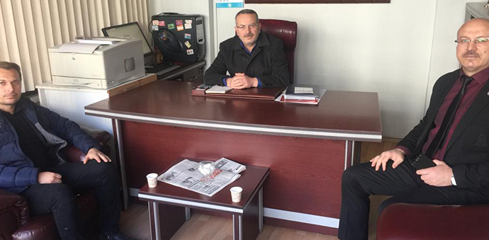 Gazetemize Gençlik Merkezi Müdüründen Ziyaret