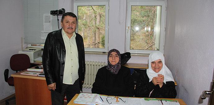 Halk Eğitim Merkezinde Okuma ve Yazma Kursu Açıldı