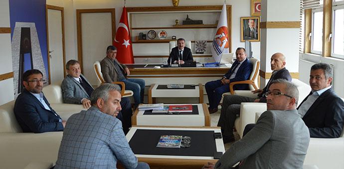 HASTOP'dan Başkan Özdemir'e Ziyaret
