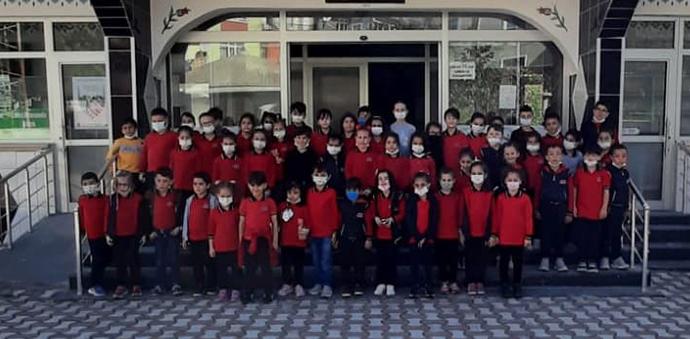 Havza 100. Yıl İlkokulundan Cami Ziyareti