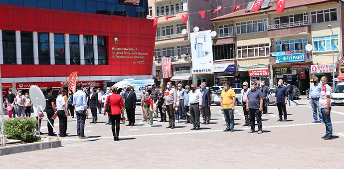 Havza ADD'den 19 Mayıs Atatürk'ü Anma, Gençlik Ve Spor Bayramı Kutlaması