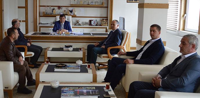 Havza Belediye Başkanı İkiz'e Taziye Ziyaretleri