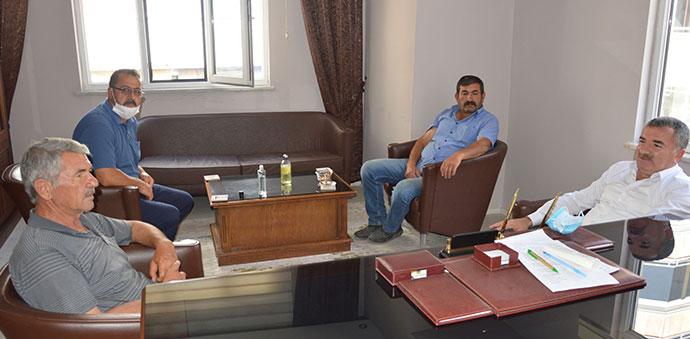 Havza Belediye Başkanı Özdemir'den Havza Ziraat Odasına Ziyaret