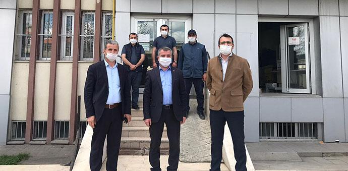Havza Belediye Başkanı Özdemir'den PTT'ye ziyaret
