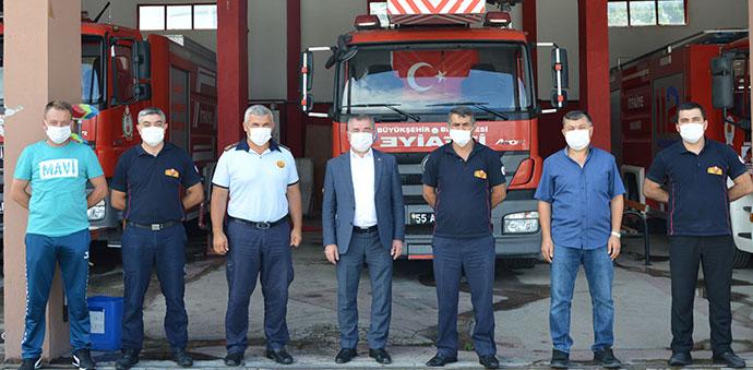 Havza Belediye Başkanı Özdemir'den Bayram Kutlaması