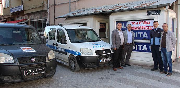 Havza Belediyesi Hizmet Araçlarını KPSS Adaylarına Tahsis Etti