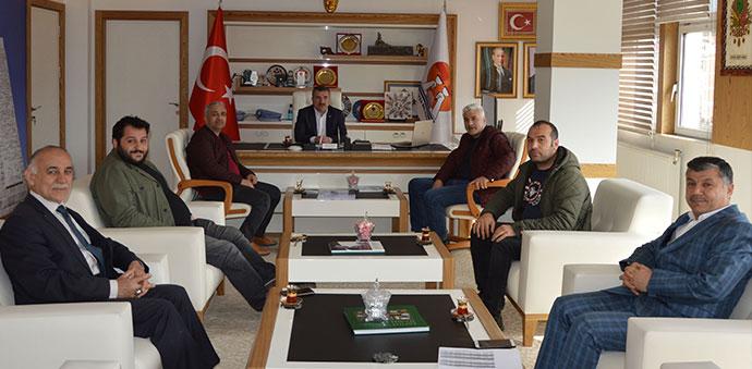 Havza Belediyesinde Koronavirüs Toplantısı