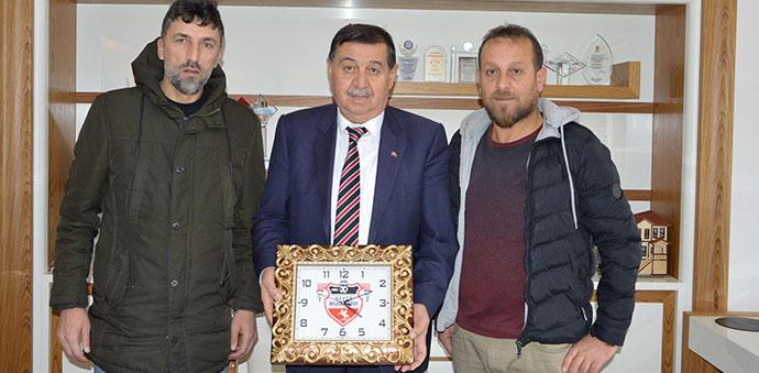 Havza Belediyespor'dan Başkan İkiz'e Teşekkür