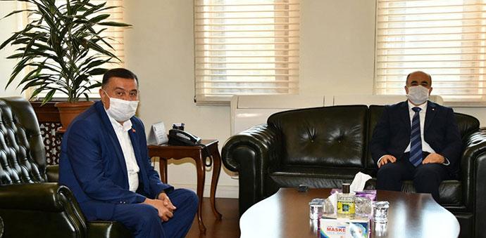 Havza Eski Belediye Başkanı Murat İkiz'den Vali Dağlı'ya Ziyaret