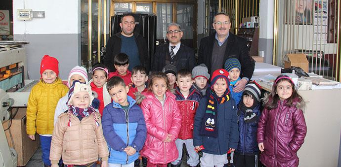 Havza Fatih Özel Anaokulu Öğrencilerinden Ziyaret