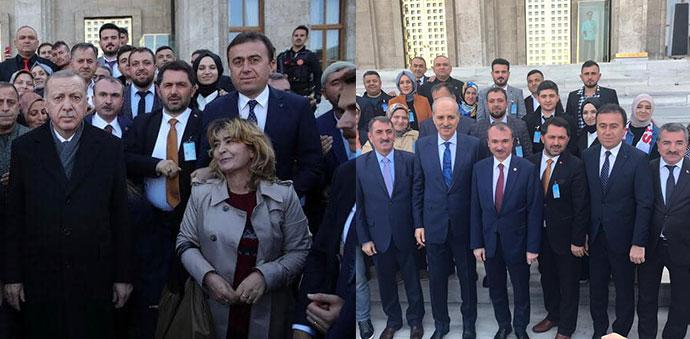 Havza Heyeti AK Parti Grup Toplantısına Katıldı