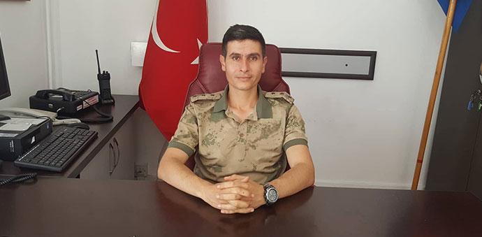 Havza İlçe Jandarma Komutanı Göreve Başladı