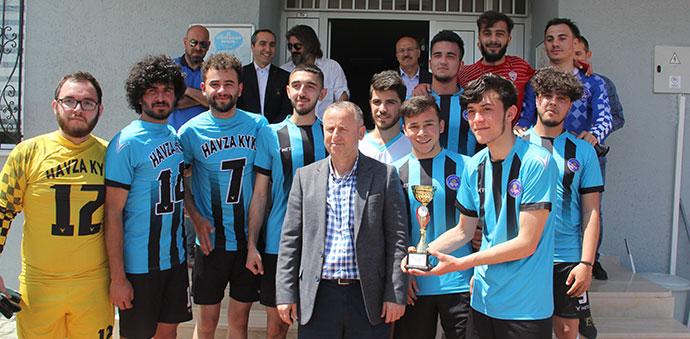 Havza Meslek Yüksek Okulu Futbol Turnuvası Sona Erdi
