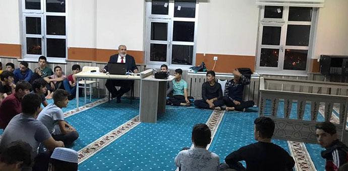 Havza Müftüsü İlyas Akyazı Okullarda Konferans Verdi