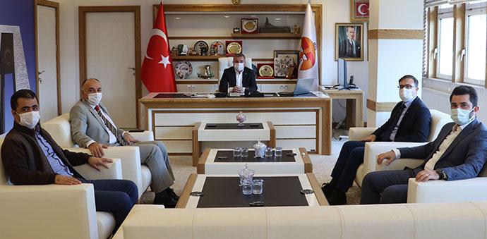 Havza MYO'dan Belediye Başkanı Özdemir'e Ziyaret