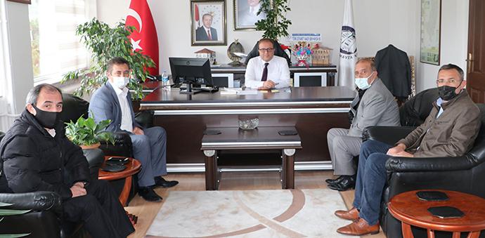 Havza Oda Başkanlarından Kaymakam Nayman'a Ziyaret