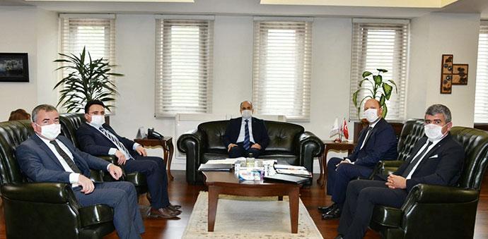 Havza OSB Yönetim Kurulu Samsun Valisi Zülkif Dağlı'yı Ziyaret Etti