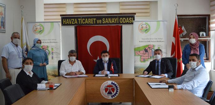 Havza OSB'ye 25 Milyon Lira Değerinde Tatlı Yatırımı