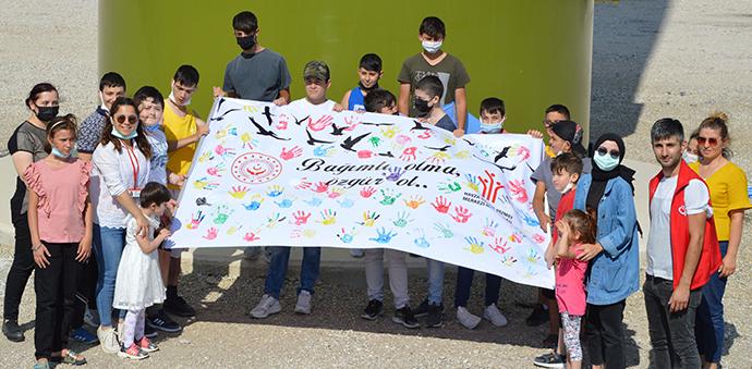 Havza Sosyal Hizmet Merkezi Müdürlüğünden Çocuklar İçin Uçurtma Şenliği