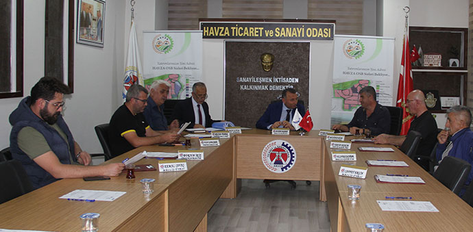 Havza TSO Meclisi Toplandı