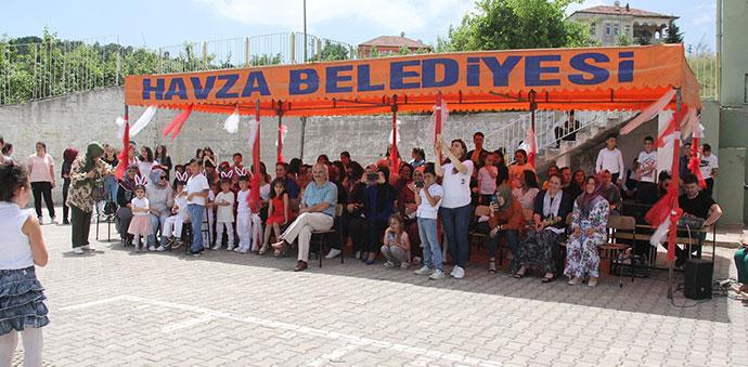 Havza Vakıfbank Atatürk Ortaokulunda Yıl Sonu Etkinliği
