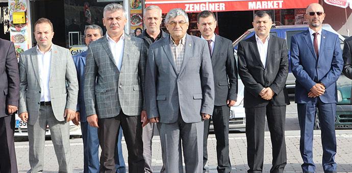 Havza'da 19 Ekim Muhtarlar Günü Törenle Kutlandı