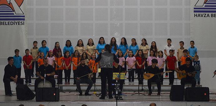 Havza'da 29 Ekim Cumhuriyet Bayramı Konseri