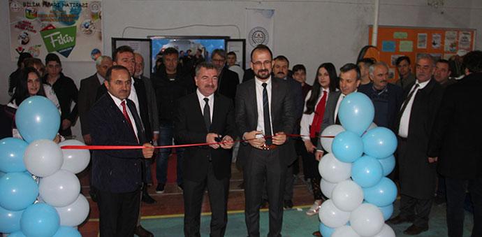 Havza'da '4006 TÜBİTAK Bilim Fuarı' açıldı