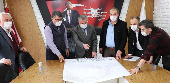 Havza'da Altyapı Yatırım Programı Görüşüldü