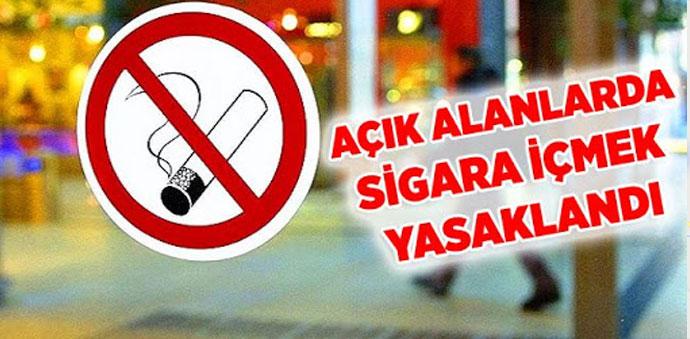 Havza'da Bu Alanlarda Sigara İçmek Yasaklandı