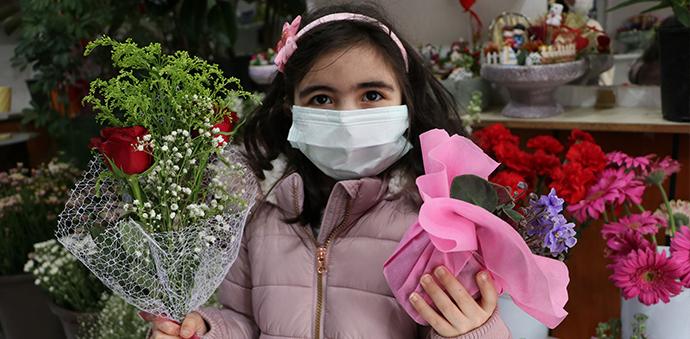 Havza'da Çiçekçilerde 'Anneler Günü' Yoğunluğu