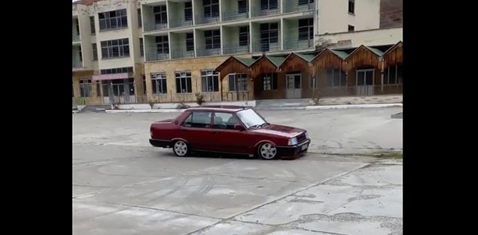 Havza'da Drift Yapan Sürücüye 6 Bin 141 Lira Ceza