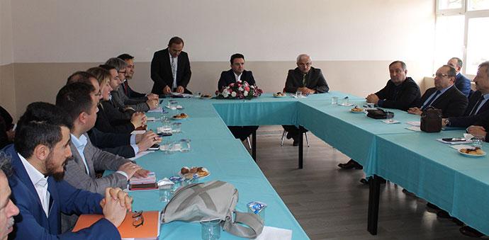 Havza'da Eğitim Değerlendirme Toplantısı Düzenlendi