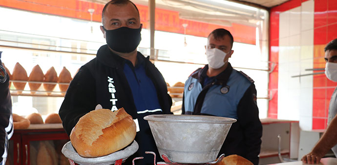 Havza'da Ekmek Fırınlarına Gramaj Ve Hijyen Denetimi