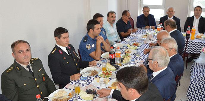 Havza'da Gaziler Onuruna Yemek Programı Düzenlendi