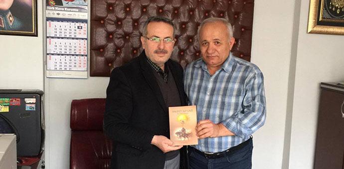 HAVZA'DA GÖREV YAPAN ÖĞRETMEN NEVZAT OCAK'IN YAZMIŞ OLDUĞU KİTAP YAYINLANDI