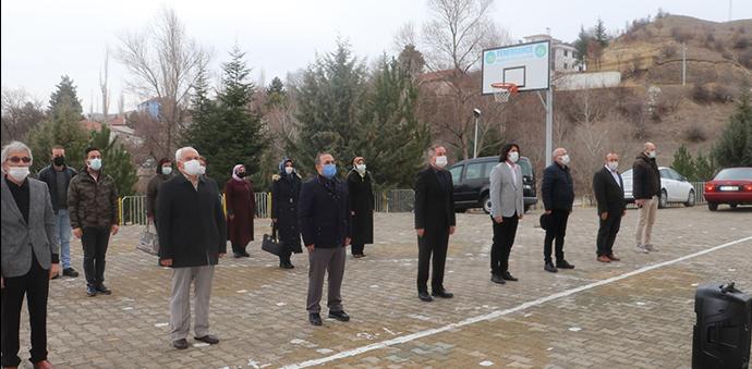 Havza'da İstiklal Marşı Okuma Töreni Yapıldı