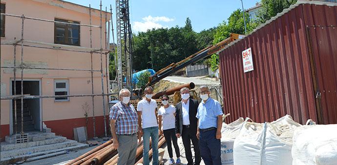 Havza'da Jeotermal Sondaj Çalışmasına Başlandı
