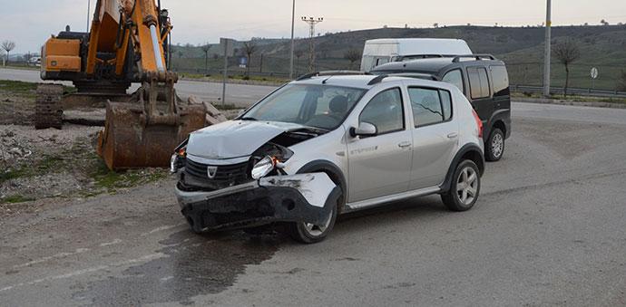 Havza'da Kaza 2 Yaralı