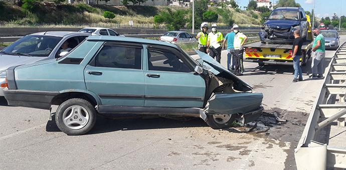 Havza'da Kaza 3 Kişi Yaralandı