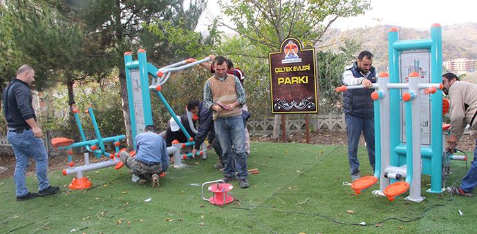 Havza'da Kırsal Mahallere 50 Park