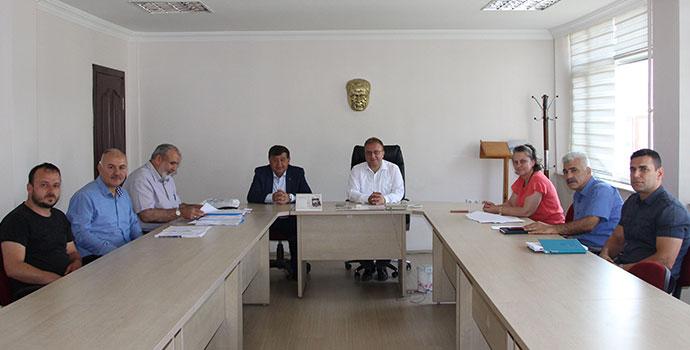 Havza'da Kurban Kararları Komisyonu Toplandı