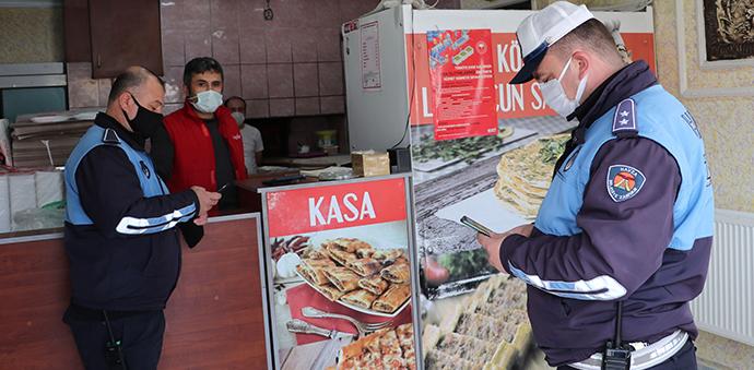Havza'da Paket Servis Yapan İşyerleri Denetlendi