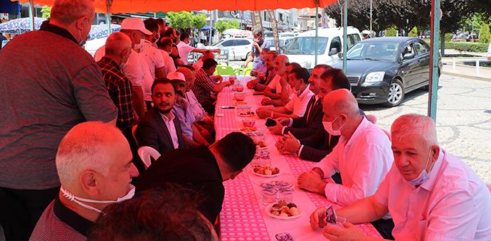 Havza'da Resmi Kurban Bayramı Bayramlaşma Programı Yapıldı