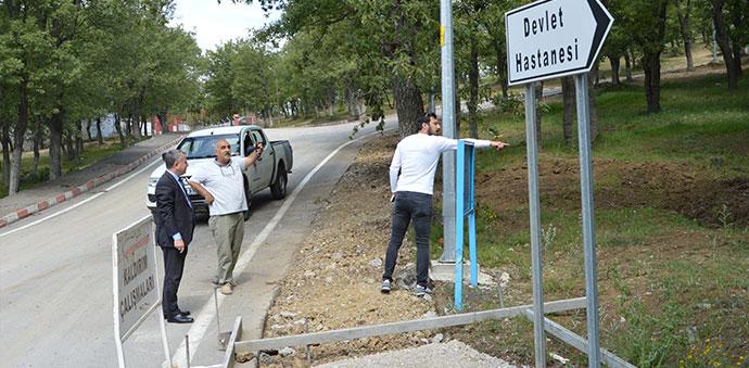 Havza'da Samsun Büyükşehir Belediyesi Çalışmaları