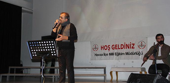 Havza'da Şiir Dinletisi Programı Düzenlendi