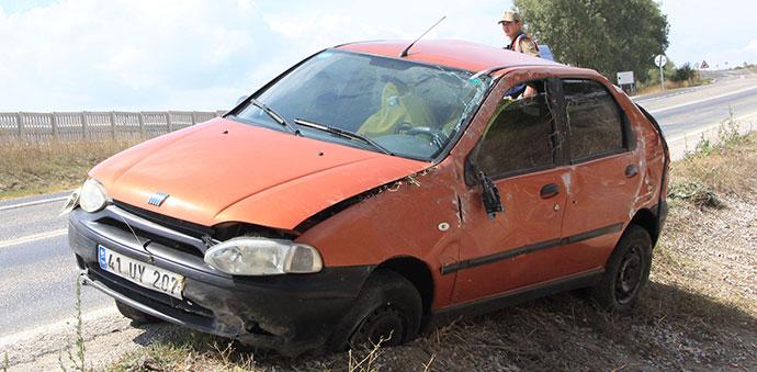 Havza'da Trafik Kazası 3 Yaralı